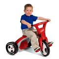 radio-flyer-2-in-1 twist  trike red